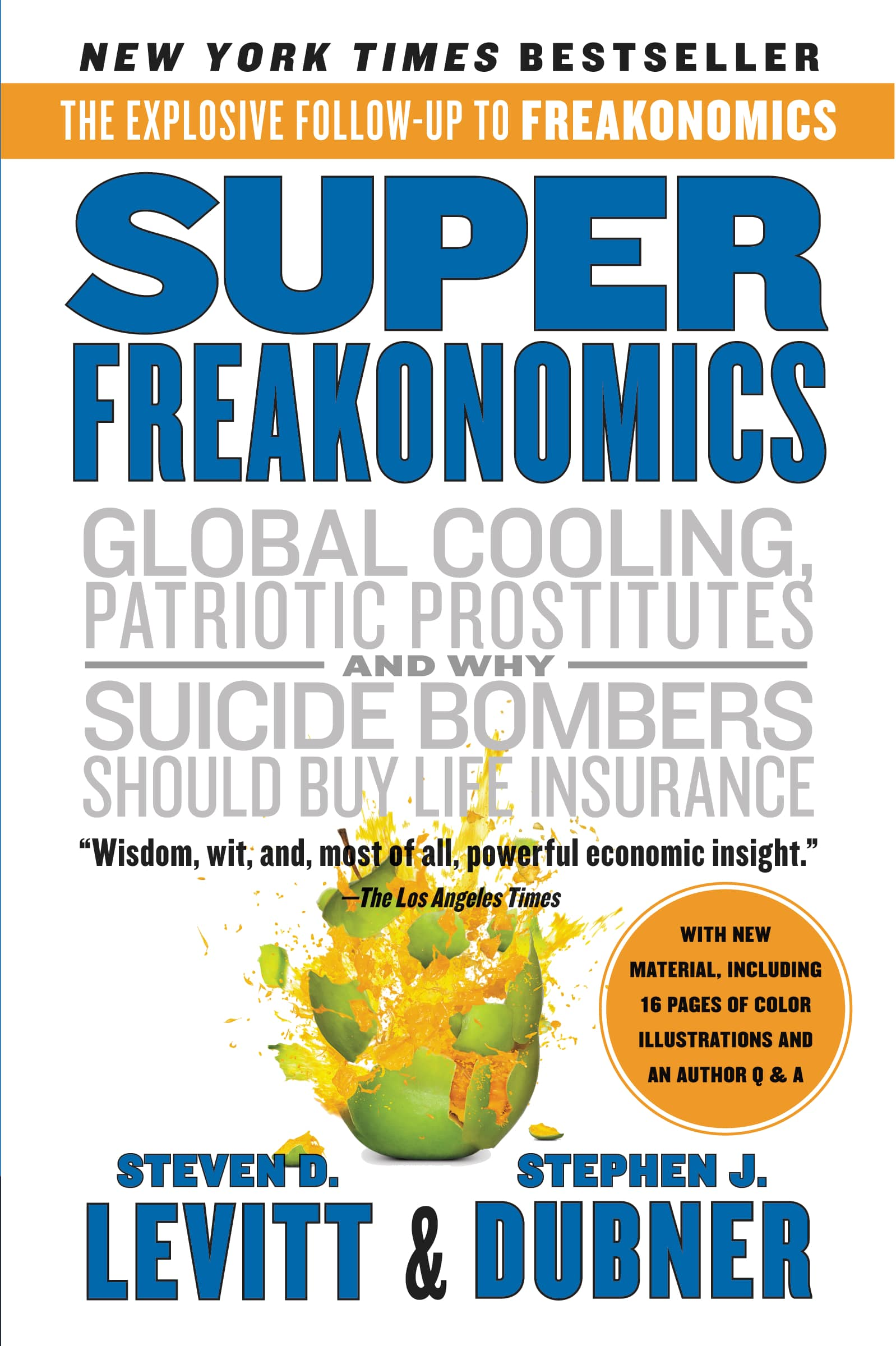 a review of freakonomics a book by steven levitt This was pointed out in a comment by justin mccrary published in the american economic review steven levitt and book freakonomics, levitt and.